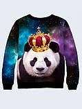 Чоловічий Світшот Панда в Короні, фото 2
