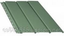 Зеленый без перфорации 4,0х0,310м (1,22 м2)Софит Bryza (Бриза)