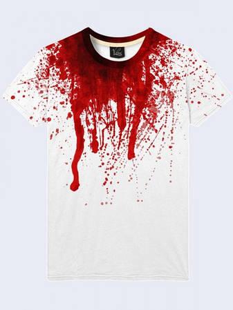 Мужская Футболка Кровь