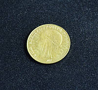 10 злотых 1925 г Польша копия золотой монеты №615 копия
