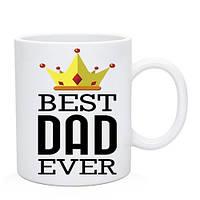 Чашка Best Dad. Кружка Найкращий тато