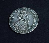 Талер 1622 г Германия Фердинанд копия в серебре №620 копия