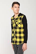 Дитяча сорочка для хлопчика Young Reporter Польща 201-0334B-06-300-1-M Чорний