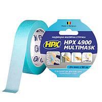HPX 4900 MULTIMASK - 24мм х 50м - сверхпрочная малярная лента с УФ защитой