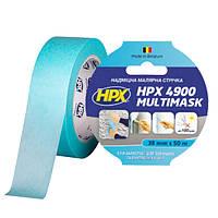 HPX 4900 MULTIMASK - 36мм х 50м - сверхпрочная малярная лента с УФ защитой