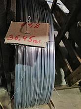 Проволока 1,2 мм стальная оцинкованная термически обработанная Гост 3282-74 низкоуглеродистая ОК вязальная