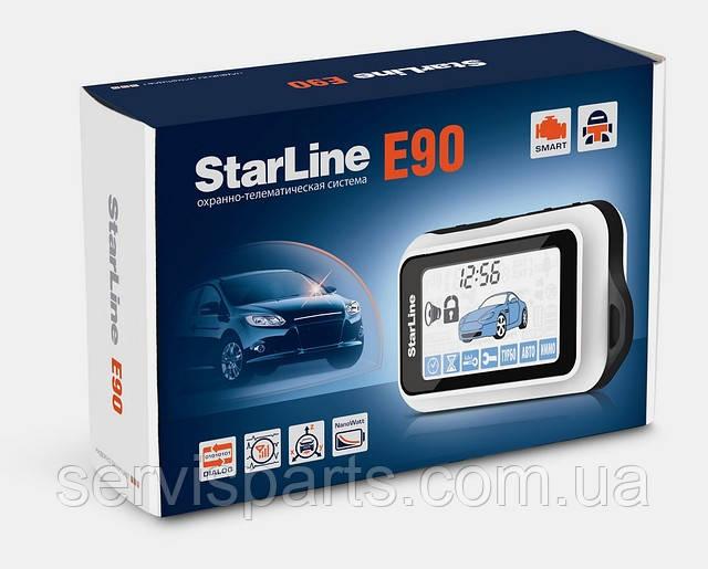 Діалогова автосигналізація Starline E90 (Старлайн)
