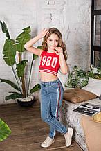Детский топ для девочки Colabear Турция 684692 Красный