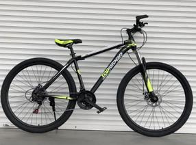 """Гірський Велосипед TopRider 24 дюймів""""611"""" салатовий"""