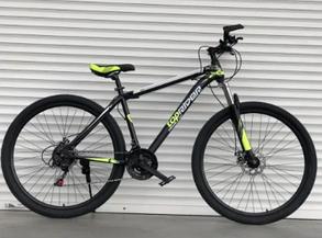 """Гірський Велосипед TopRider 24 дюймів""""611"""" салатовий, фото 2"""