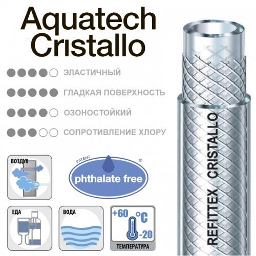 Шланг технічний AQUTECH CRISTALLO 38х5 мм 25м