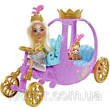 Набор Enchantimals Королевская карета и кукла Пенелопа Пони GYJ16