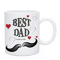 Кружка Best Dad. Чашка Лучший Папа