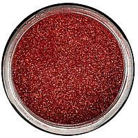 Гліттер Червоний 60г Декоративні блискітки Aurum