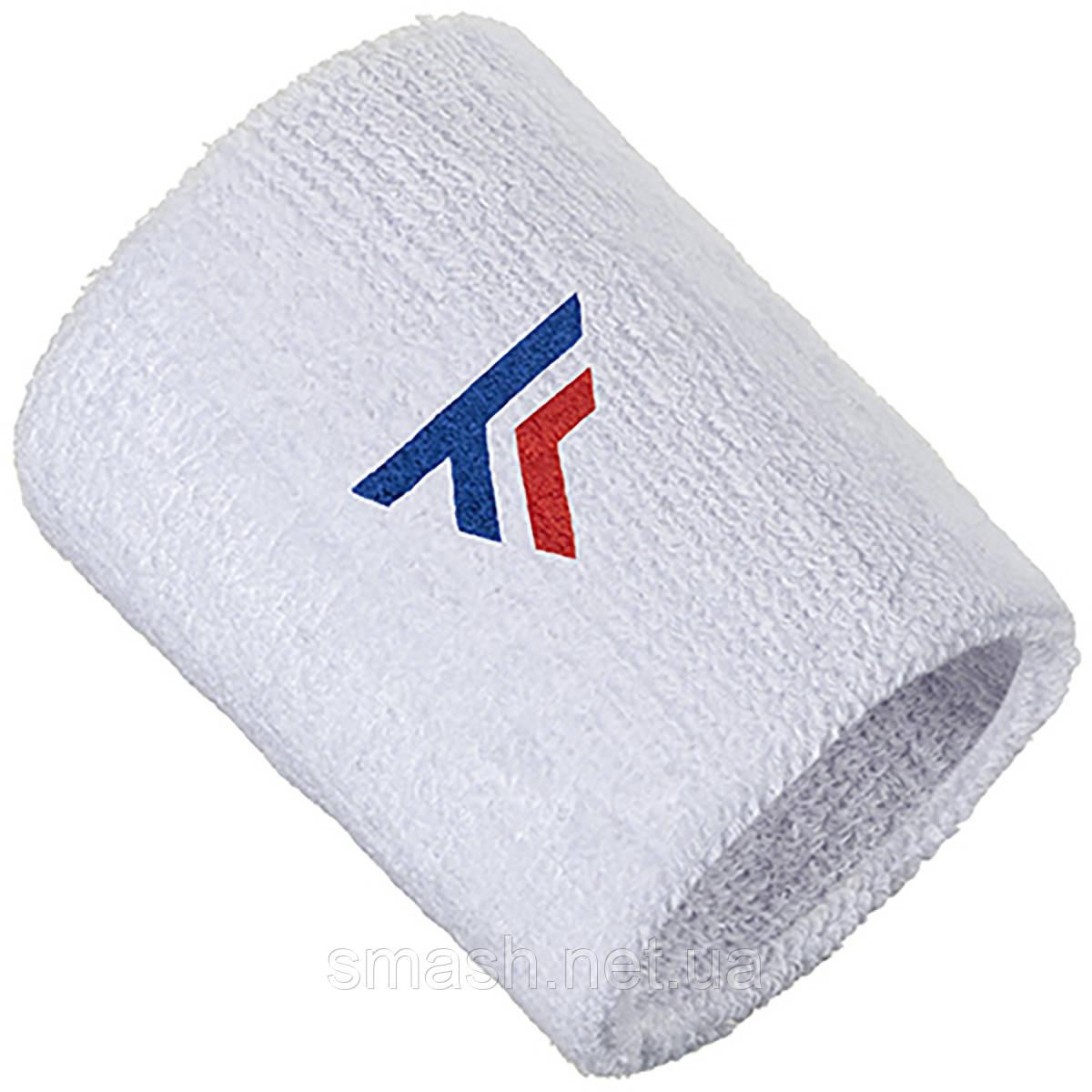 Напульсник Tecnifibre XL Wristband White 2021