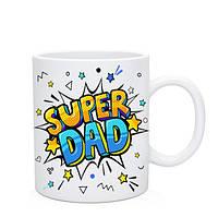 Кружка Super Dad. Чашка Супер Папа, фото 1