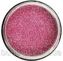 Гліттер Рожевий 60г Декоративні блискітки Aurum