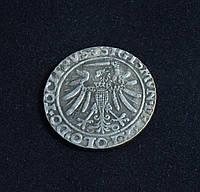 Грош 1536 г Польша Сигизмунд I копия серебряной монеты №631 копия