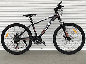 """Гірський Велосипед TopRider 24 дюймів""""611"""" коричневий"""