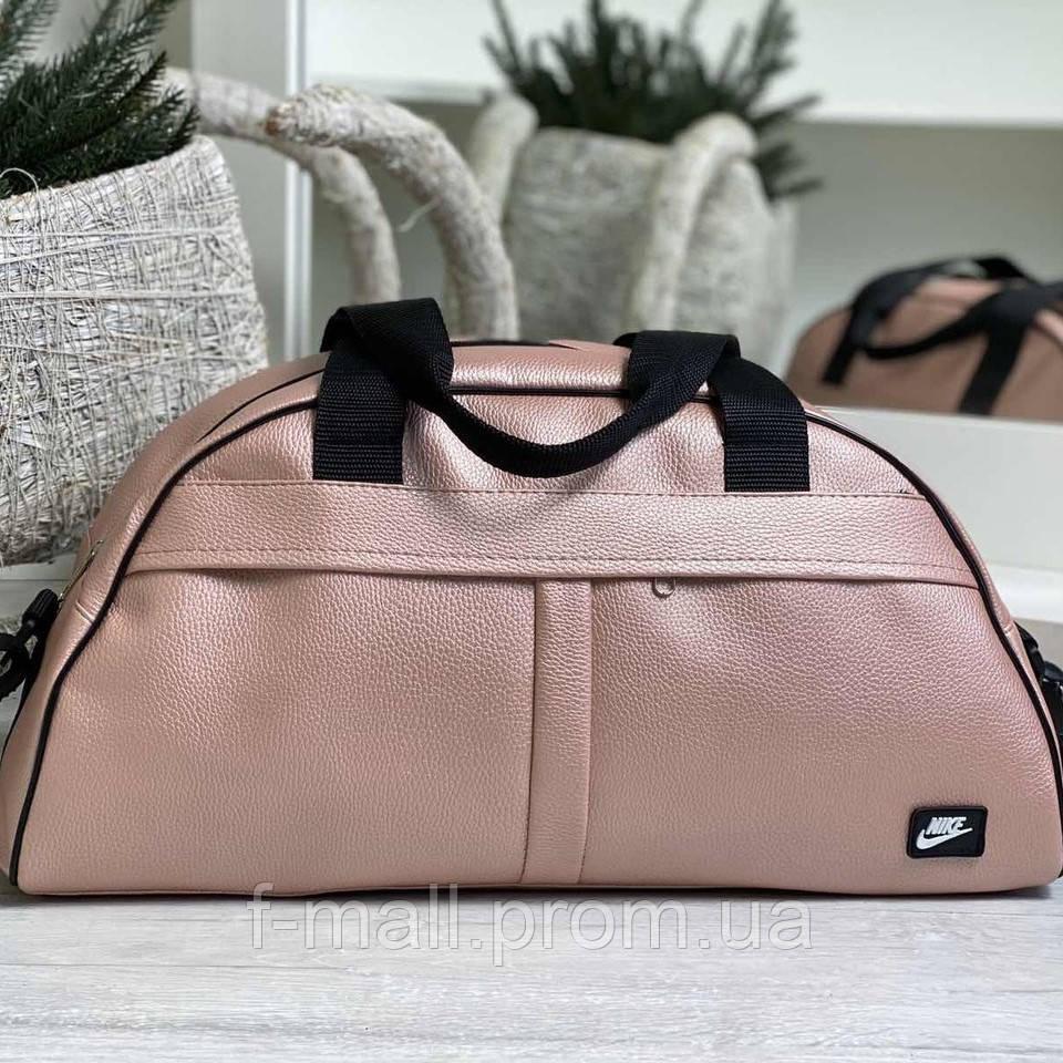 Жіноча спортивна сумка дорожня сумка зі штучної шкіри
