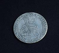 Талер 1583 г Польша Литва Стефан Баторий копия серебряной монеты №634 копия