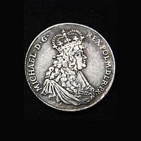 Талер 1671 г Польша Михаэль  в серебре №636 копия, фото 1