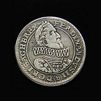 Талер 1624 г Польша Фердинанд  серебро №639 копия, фото 1