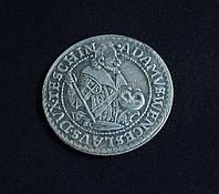 Талер 1609 г Силезия Тешена Адам Венцель копия в серебре №640 копия