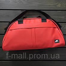 Женская спортивная сумка дорожная сумка из искусственной кожи Красный