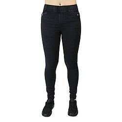 Джеггінси чорні джинсові жіночі повсякденні Метелик