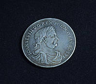 Талер 1677 г Ян III Собески копия серебряной монеты №641 копия