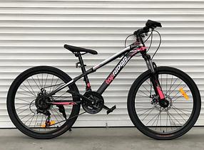 """Гірський Велосипед TopRider 24 дюймів""""611"""" рожевий"""