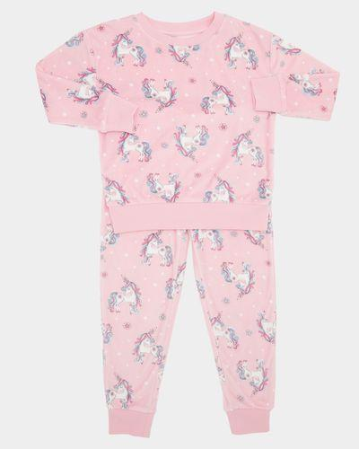 Пижама велюровая Dunnes для девочки, 7-8л (122-128см)
