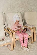 Детская пижама для девочки ЛЕТО Украины ЛОЛ Розовый