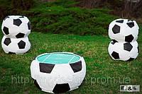 Кресло мяч 100см из натуральной кожи