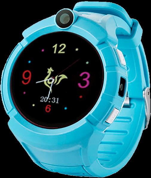 Дитячі розумні годинник з GPS Smart baby watch Q610S Blue