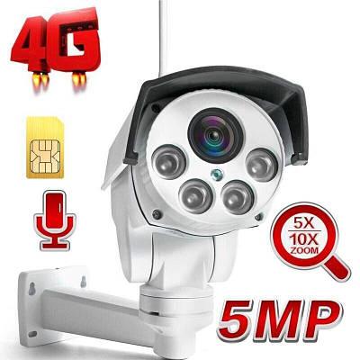 4G камера видеонаблюдения под SIM карту Boavision NC949G-EU, поворотная, 5 Мегапикселей (УЦЕНКА - не работает