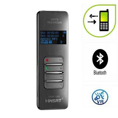Bluetooth диктофон для запису телефонних розмов з мобільного телефону HNSAT DVR-188, 8 Гб пам'яті