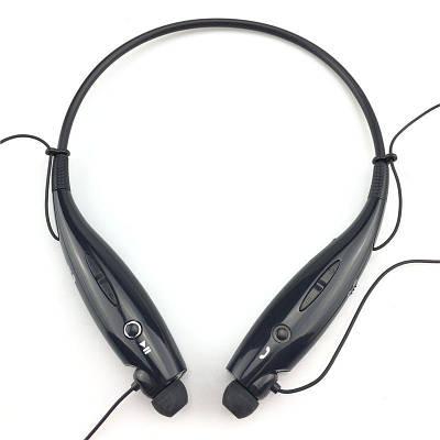 Беспроводные наушники на шею блютуз Heonyirry HBS-730, с микрофоном, черные