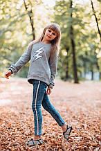 Демисезонные детские джинсы для девочки Young Reporter Польша 193-0110G-31-103-1 Голубой