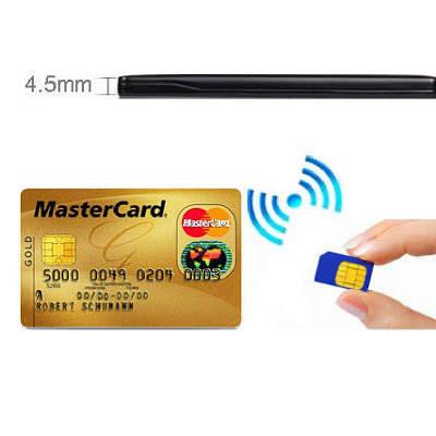 GSM гарнитура для микронаушника индукционная в виде кредитной карточки Edimaeg NMD-330L (без микронаушника)