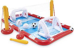Игровой центр Intex Action Sports, с воротами, мячами, 57147