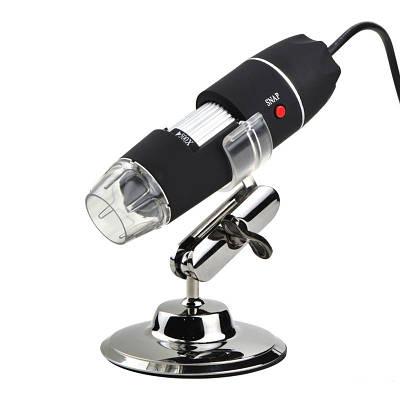 USB микроскоп электронный цифровой с увеличением 1600 x Ootdty DM-1600, 2 Мп, подсветка 8 LED
