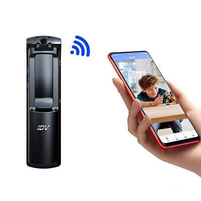 Wifi видеорегистратор портативный - мини камера с поворотным объективом IDV L01, время работы до 5 часов,