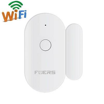 Wifi датчик открытия дверей и окон Fuers WIFID01, уведомление на смартфон
