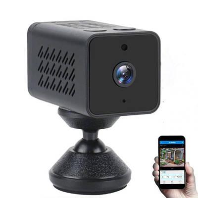 Мини камера wifi беспроводная c большим временем работы до 8 часов Jianshu WJ11T, 2 Мегапикселя, FullHD 1080P,