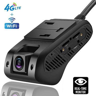 Автомобильный видеорегистратор с 4G + WIFI + GPS Jimi JC400P Aivision Cam с online передачей видео через