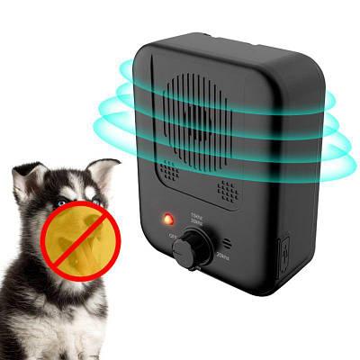 Антилай для собак ультразвуковой стационарный с регулировкой частоты Pet K4, с функцией антипривыкания