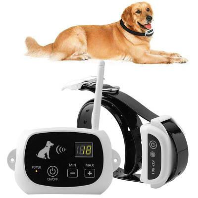 Беспроводной электронный забор для собак Pet KD-661 с 1-м ошейником, белый