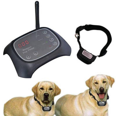 Беспроводной электронный забор для собак Wireless Dog Fence WDF-200 с 1 ошейником